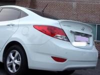 Лип cпойлер Hyundai Solaris