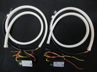 Гибкая светодиодная лента. ДХО + поворотник. 85 см